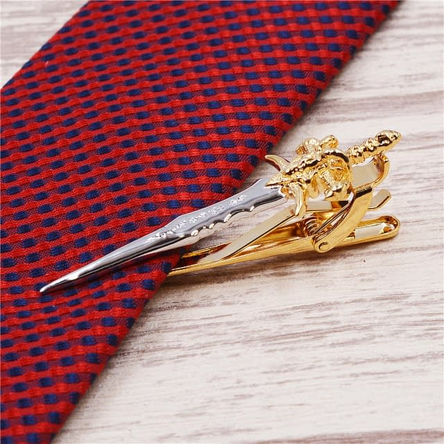Elegant Gentlemen's Copper Necktie Clip