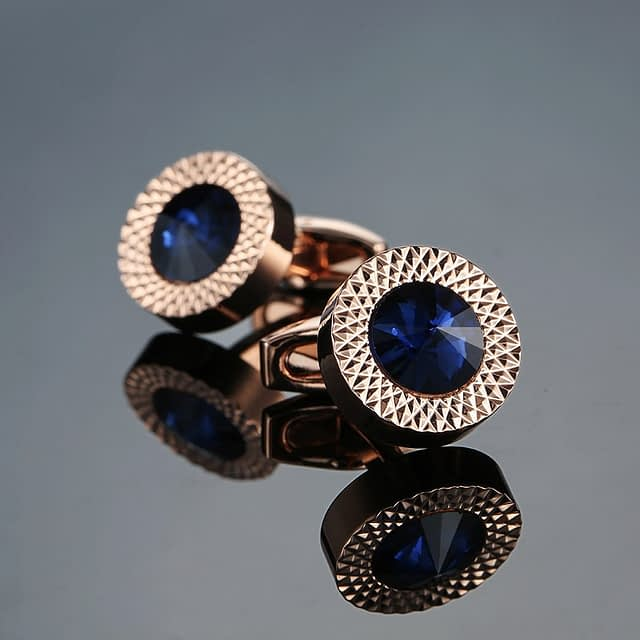 Ultra Luxury Crystal Cufflinks for Men