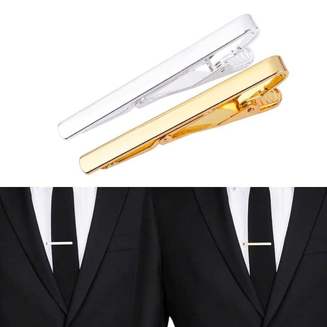 Fashionable Necktie Clips for Men