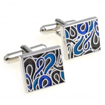 Men's Casual Stainless Steel Cufflinks